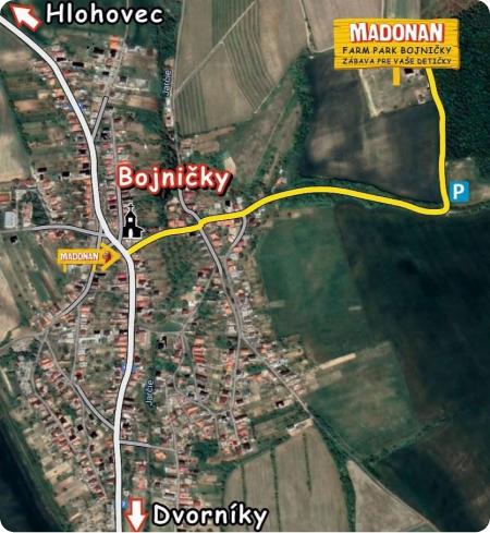 Madonan mapa ako sa dostať k madonan